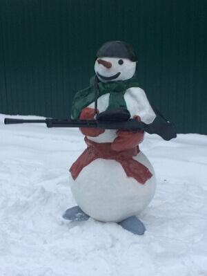 """""""вежливый снеговик"""""""