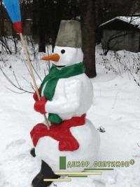 """""""веселый снеговик"""""""