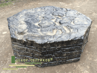 декоративная кирпичная кладка на бетонное кольцо