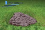 Искусственный камень Де-Люкс на люк D80/30