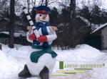 Снеговик инспектор ДПС