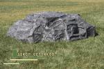 Декоративный камень Де-Люкс D130/40 на бетонное кольцо