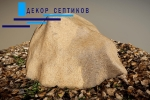 Искусственная крышка камень D80/50 на прудовые фильтры