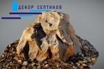 Декоративная крышка камень Люкс D80/50 на прудовые фильтры