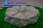 Искусственная крышка Каменный цветок на люк