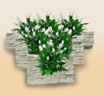 Фитостена Nature space brick-wall big